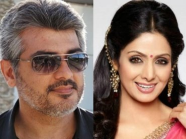 sridevi producing to ajith