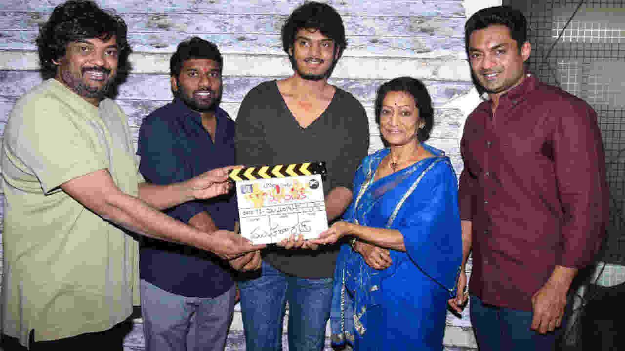 aakash new movie launch puri , newsxpress.online