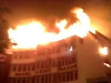 fire accident in Arpit Palace