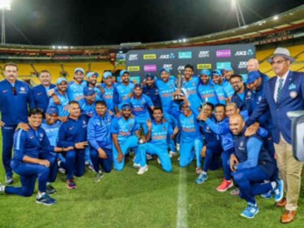 india won the series